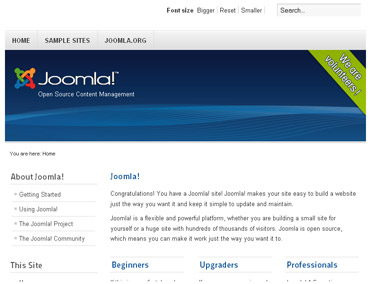 Webuzo for Joomla