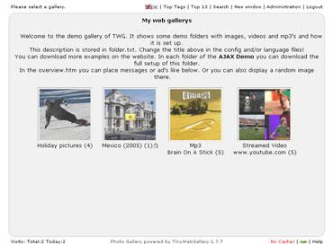 Webuzo for TinyWebGallery 2.1 full