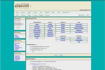 Webuzo for phpCOIN