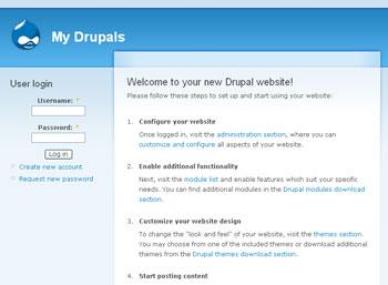 Webuzo for Drupal