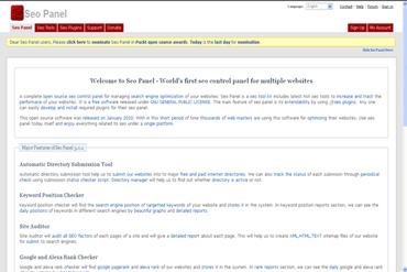 Webuzo for Seo Panel