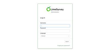 Webuzo for LimeSurvey full screenshot