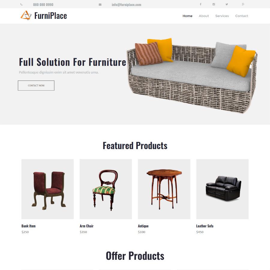 Sitio web hosting demo